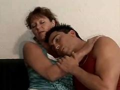 German mom fucks her son