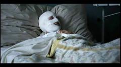 Bandaged lesbian scene
