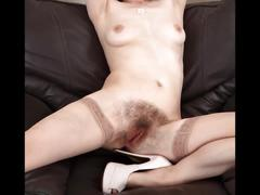 hairy, lingerie, matures