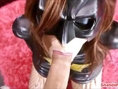 anal, milf, blowjob, amateur, fingering, busty, latex, canadian, pegging, peg, cosplay, canada, batgirl, in-the-ass