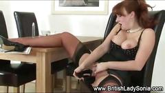 masturbation, pussy, shaved, bigtits, fingering, girl, masturbating, solo, stockings, teasing