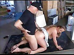 German old dad fucking his sexy busty bbw daughter-in-law!