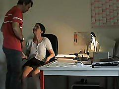 Work place sluts - working late the urges get going she's happy to oblige