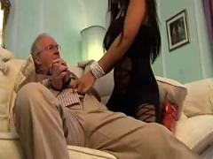 granddad, sex, boobs, ass, tits, long, hair, handjob, blowjob