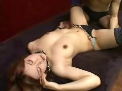 Young beauty asian babe creampie fuck