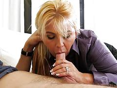 Joclyn stone seduced her friend's son @ horny grannies love to fuck #14