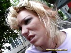 Picked up german for anal fucking