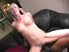 Sharon blonde interracial