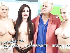 group, blowjob, food, pornstars, vivid, jennifer white, jenna ivory, layla price
