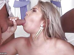 Stunning nikki dream was shared and double penetrated