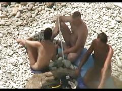 amateur, beach, public nudity, threesomes, voyeur