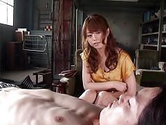 milf, japanese, masturbating, brunette, sex toy, vibrating egg, erito av stars, erito, akiho yoshizawa