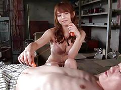 Busty japanese milf's sexy vibes