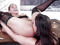 milf, threesome, anal, bdsm, big ass, big tits, babe, pussy licking, tattooed, hairy pussy, ball gag, rope bondage, families tied, kink, dana dearmond, abella danger, juan lucho