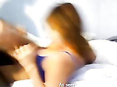 Sweet amateur big boobed girlfriend fucked!