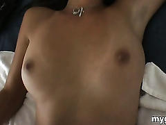 Passed out hottie fucked by ex!