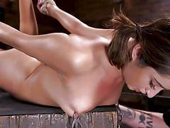 Isabella nice was bound and tortured in the dungeon