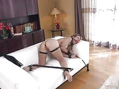 Cherie is tortured to get drilled in the ass