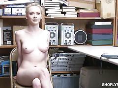 blonde, handjob, babe, big cock, blowjob, spy cam, thief, caught stealing, shoplyfter, shoplyfter, mike mancini, athena rayne