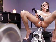 Busty beauty experienced multiply orgasms