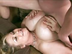Big tit sam fucks lucky guy