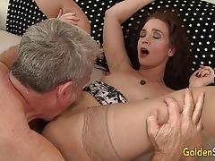 Sexy mature sable renae is licked and dicked