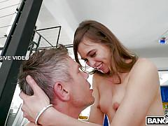 Beautiful riley reid is always ready for cock sucking
