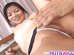 Chiharu sakura has hard clit rub more at hotajp.com