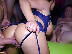 Hot anal dp gangbang party with sexy susi