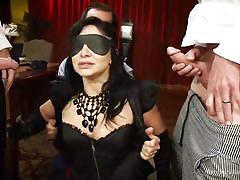 Blindfolded and fucked by a stranger