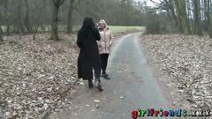 Girlfriends euro lesbian babes licking sucking fingering tight teen pussies