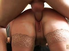 Pascalssubsluts - milf cuffed and pussy serviced