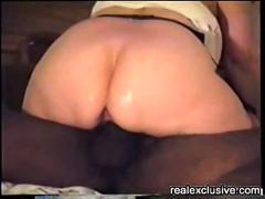 My horny wife fucked by a black guy