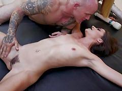 Device bondage and rough anal for luna star