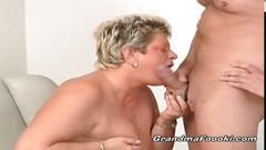 Two nasty grannies having hardcore fun