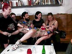 bdsm, big tits, redhead, public, big cock, blowjob, vibrator, fingering, titjob, rope bondage, public disgrace, kink, mz berlin, bella rossi, ramon nomar