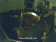 Hidden cam. playtime of my mum great boobs masturbating at computer