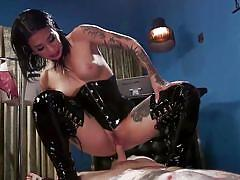 Joanna angel uses ruckus as a sex toy