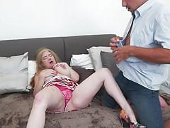 Poke your tongue deeper and deeper into my cunt