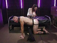 bdsm, domination, anal sex, ball gag, transsexual, brunette, tattooed, dominatrix, submissive, transsexual anal, ts seduction, kink, chelsea marie, d. arclyte