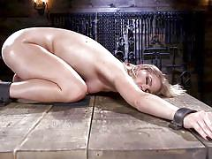 fisting, blonde, bdsm, babe, punishment, vibrator, fingering, handcuffed, chains, device bondage, device bondage, kink, lisey sweet