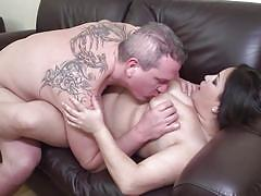 Bbw mature gets fucked in reverse cowgirl