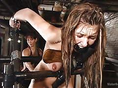 Dangerous water torture for isabella soprano