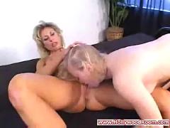 Mature woman seduces coed
