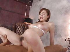 big tits, babe, japanese, moaning, hairy pussy, from behind, reverse cowgirl, cock riding, japans tinies, erito, aimi yoshikawa