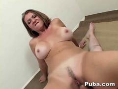 Milf raquel devine swallows all the cum in pov