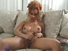Mexican american ts strokes and cums