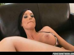 Melissa lauren gets ass rammed by 11inches of hard black dick