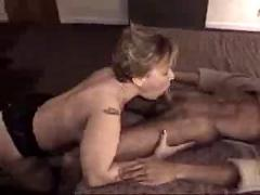 Bbw white wife gets shared with black friend