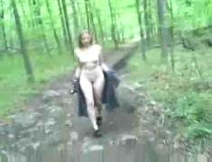 Masturbation in the wood by snahbrandy